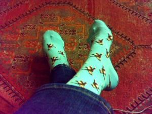 Monkey Socks from Jenny Rae