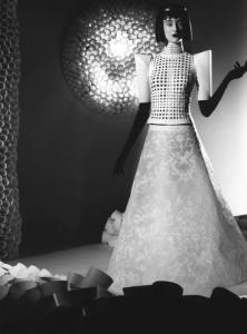 Jum Nako's paper dress