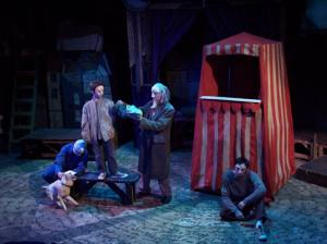 Rogue Artists Ensemble's production of THE TRAGICAL COMEDY OR COMICAL TRAGEDY OF MR. PUNCH.