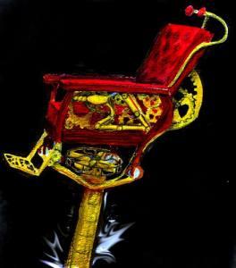 The Steampunk Gibson Chair