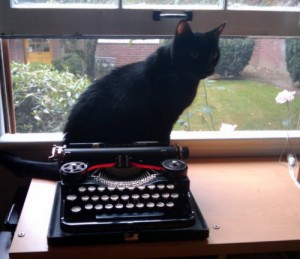 Marlowe and Typewriter