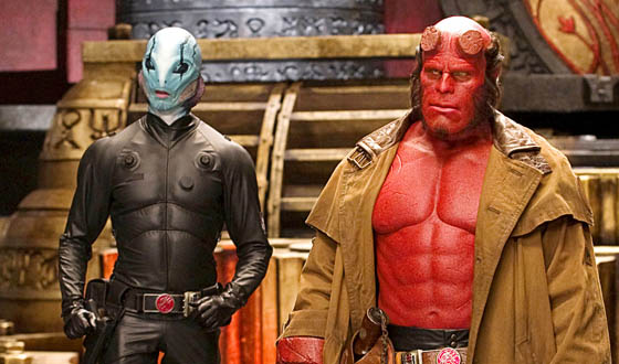 Abe Sapien and Hellboy