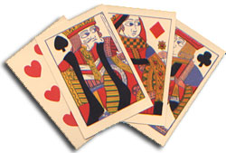 18th Century English playing cards