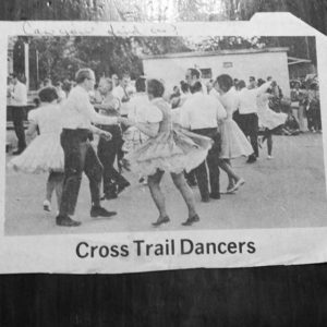 Mom and Dad square-dancing mumblesomething years ago.