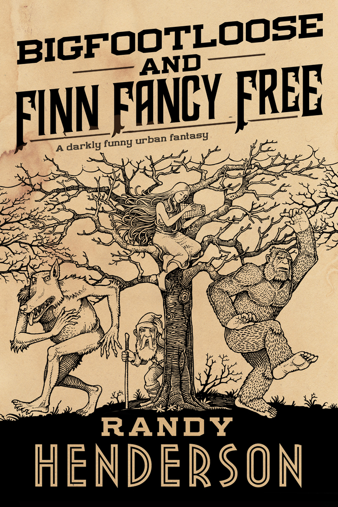 Bigfootloose and Finn Fancy Free cover