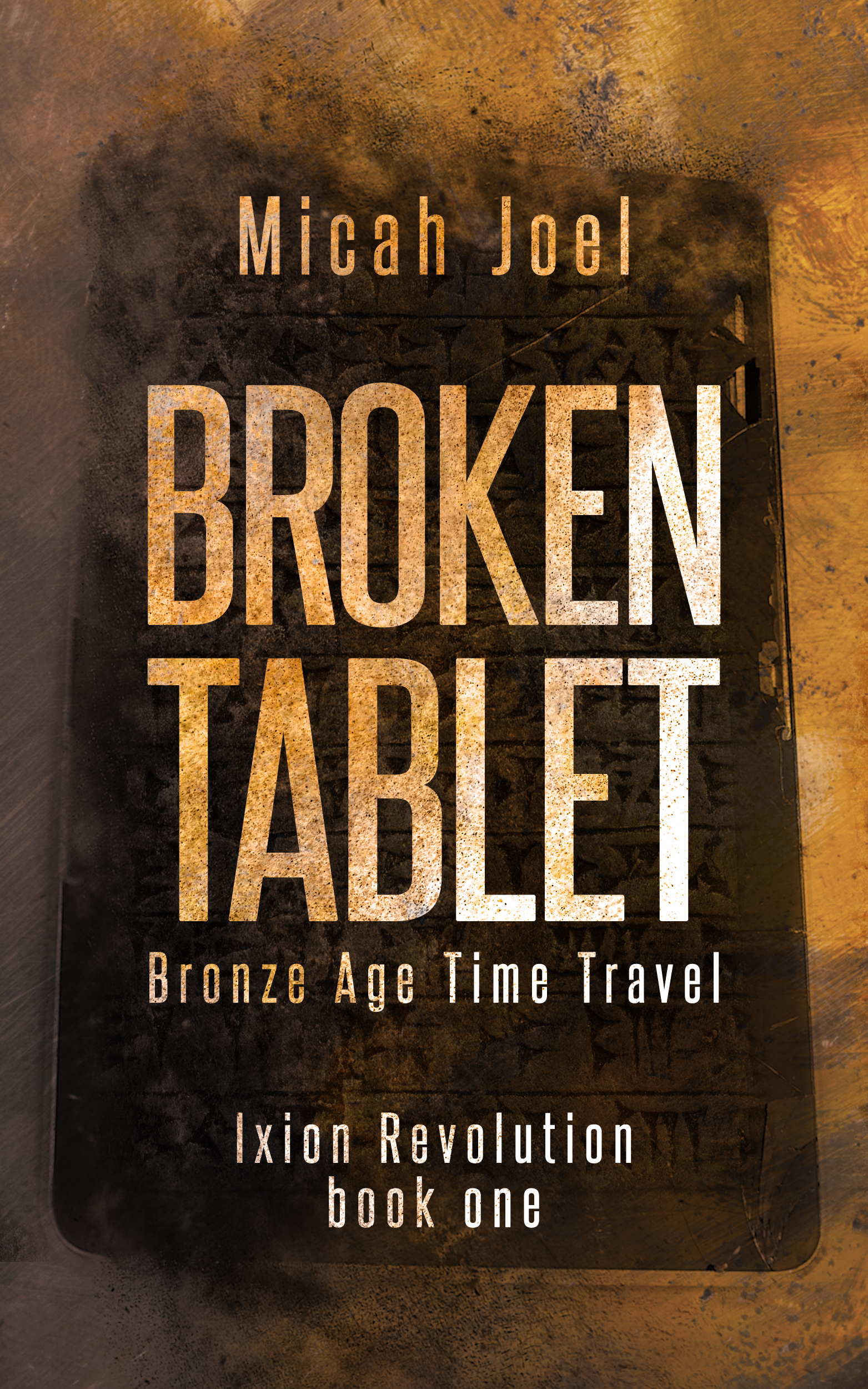 Broken Tablet cover