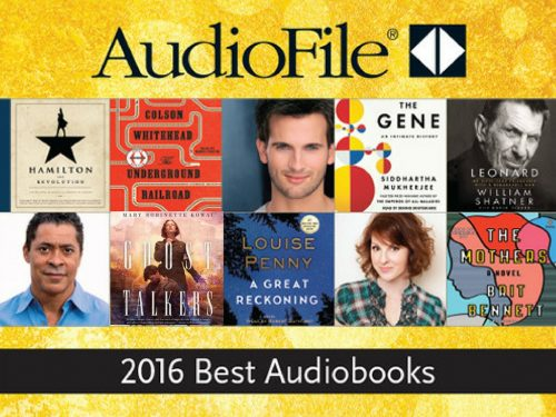 Best 2016 Audiobooks - Hamilton, Underground Railroad, Ghost Talkers, A Great Reckoning, The Gene, Leonard, The Mothers
