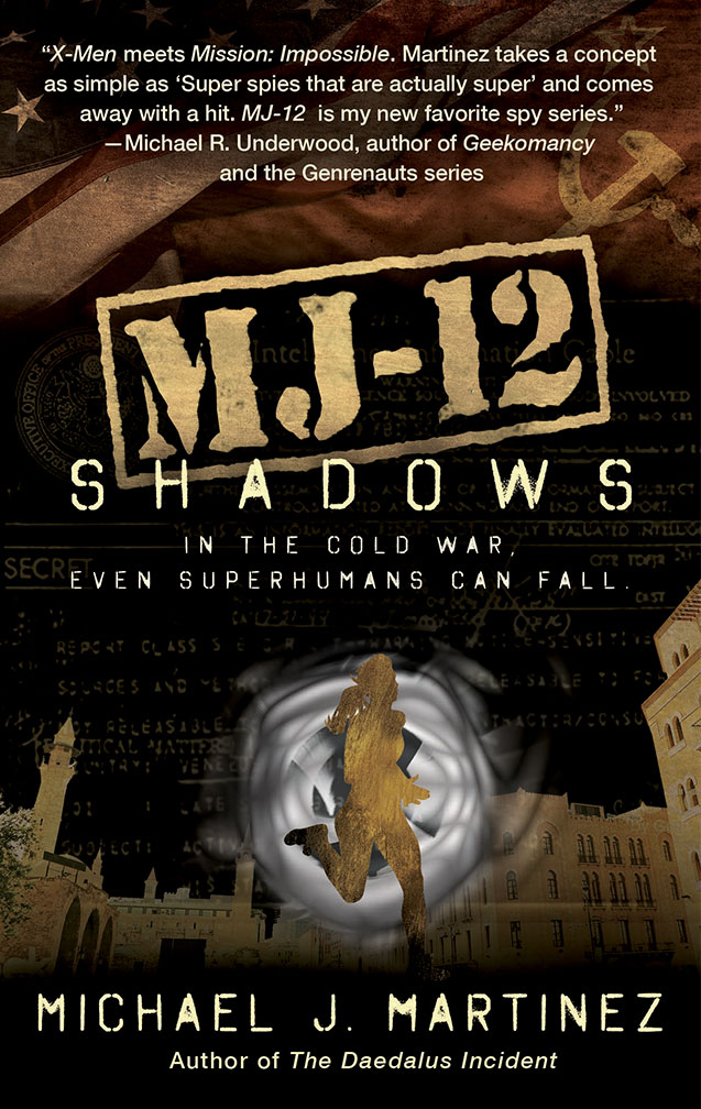 MJ-12: Shadows cover image