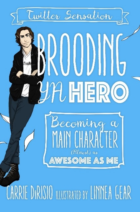 Brooding YA Hero Cover Image