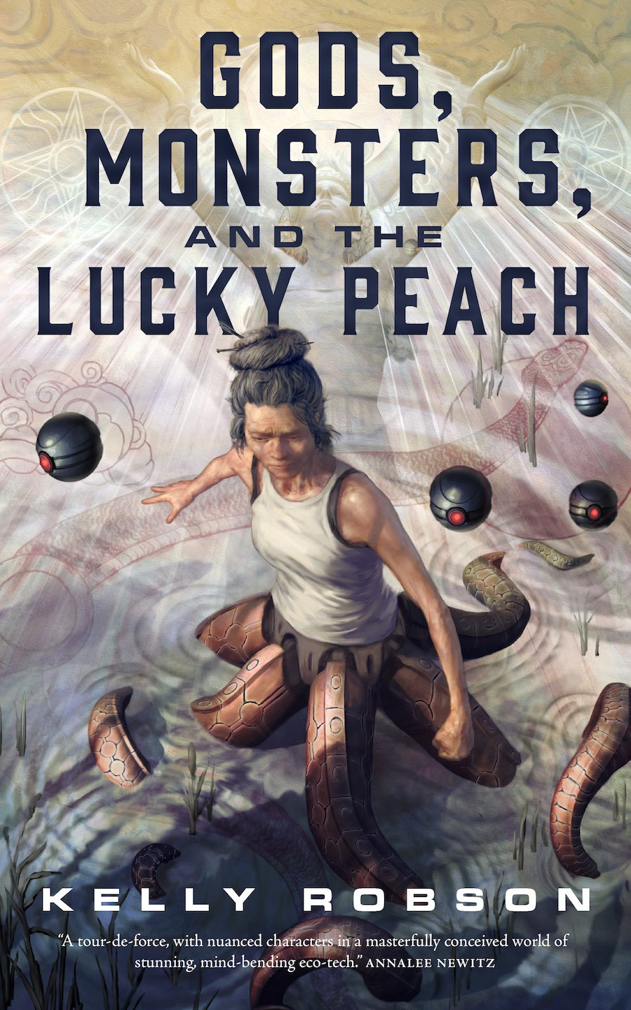 Gods, Monsters, and the Lucky Peach cover