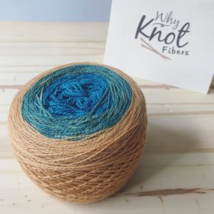 The Calculating Stars yarn lace weight