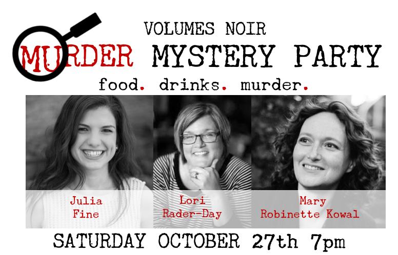 Volumes Noir Murder Mystery Party