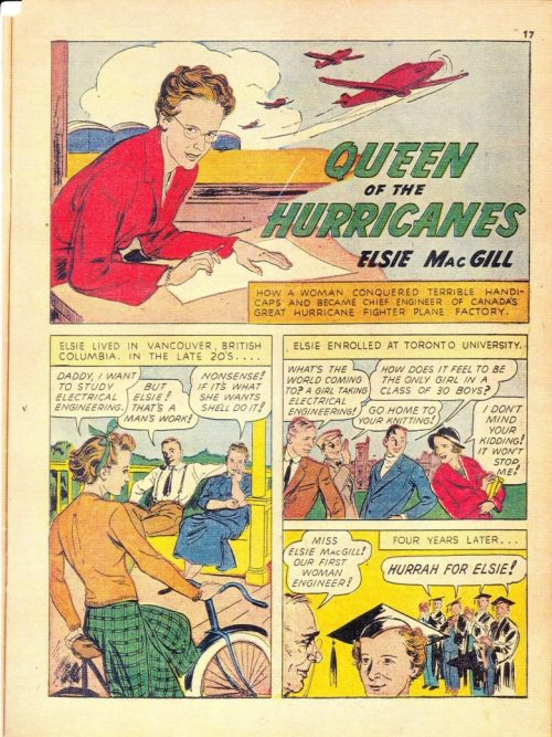 Queen of the Hurricanes comic book page