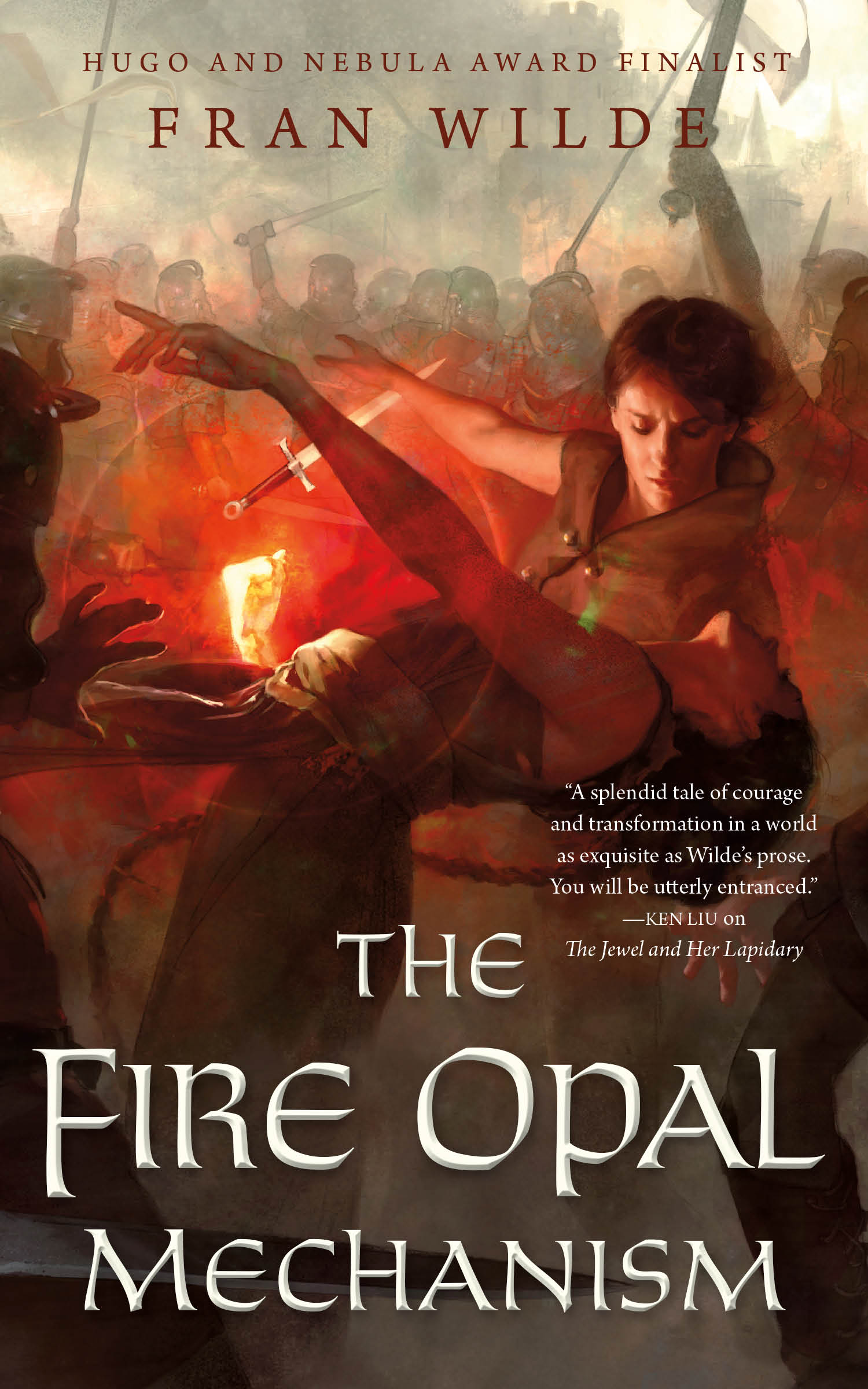 The Fire Opal Mechanism cover image