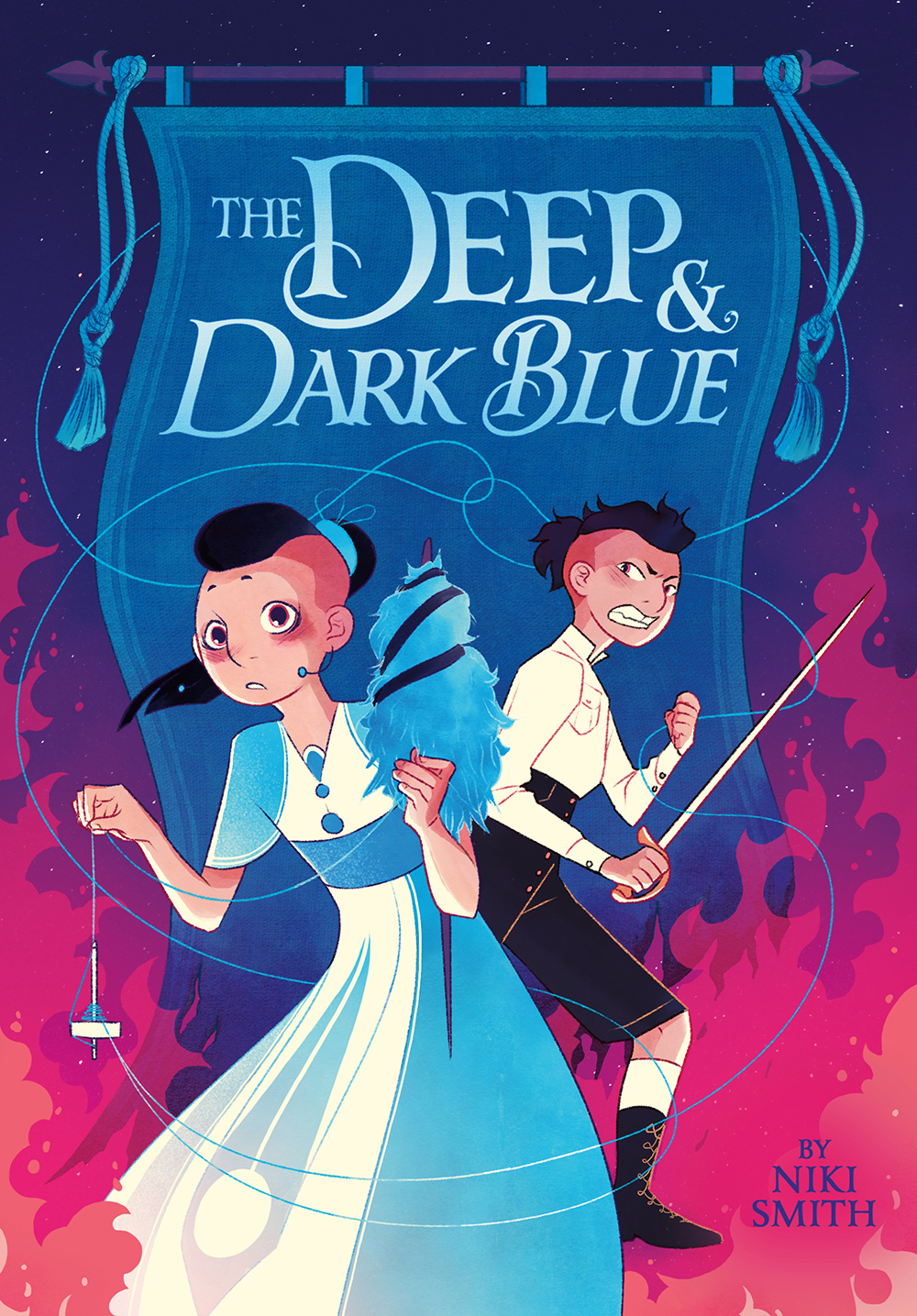 The Deep and Dark Blue cover image